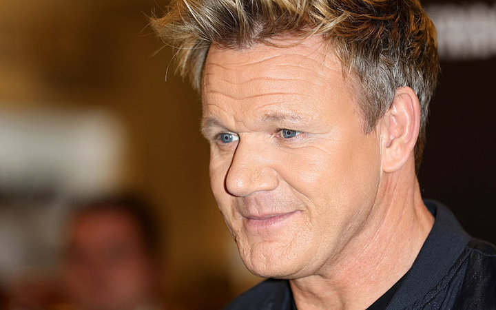LONDON, ENGLAND - DECEMBER 19:  Gordon Ramsay poses for a photo prior to signing copies of his new book 'Bread Street Kitchen' at Selfridges on December 19, 2016 in London, England.  (Photo by Tim P. Whitby/Getty Images)
