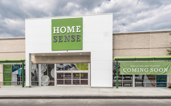 Client: TJX (508) 390-3886 770 Cochituate Rd. Framingham, MA 01701Project: Home Sense & Sierra Trading Post new store fronts - Framingham, MAFor more information Contact Gregg Shupe 508-877-7700 www.Shupestudios.com