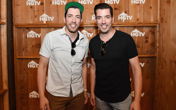NASHVILLE, TN - JUNE 10:  HGTV's Drew Scott and Jonathan Scott attend the HGTV Lodge during CMA Music Fest on June 10, 2017 in Nashville, Tennessee.  (Photo by Jason Davis/Getty Images for HGTV)