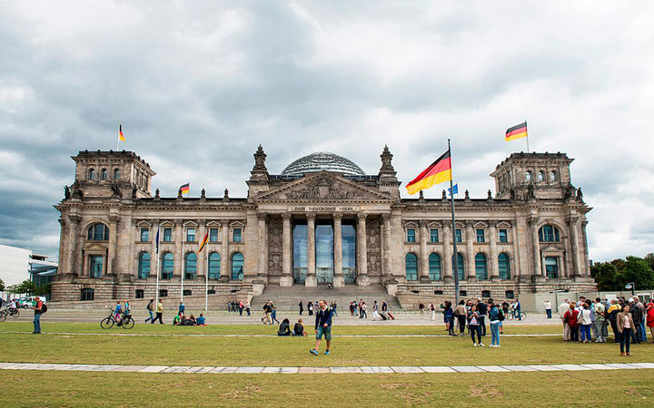Germany. Berlin. Reichstag. (Photo by: Hermes Images/AGF/UIG via Getty Images)