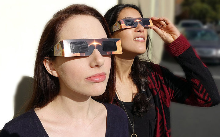 Premium ISO and CE Certified Lunt Solar Eclipse Glasses