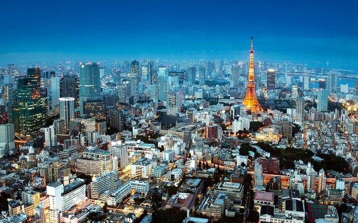 Tokyo Japan Vacation Holiday Apartment Rental Airbnb Skyline View