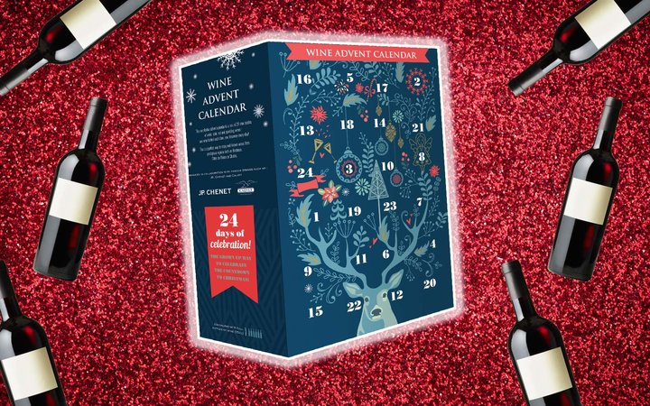 Aldi Holiday Advent Wine Calendar Christmas