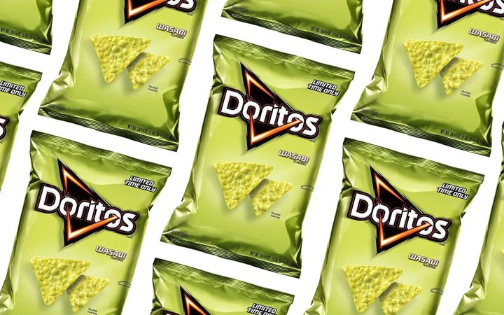 Limited Time Only Wasabi Doritos