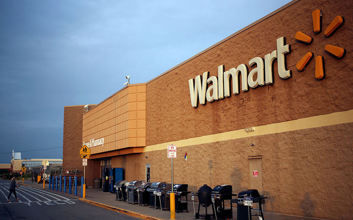 A Wal-Mart Stores Inc. Location Ahead Of Earnings Figures