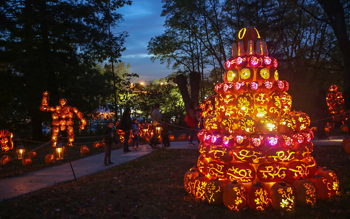The Great Jack O'Lantern Blaze in New York
