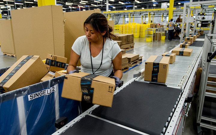 Operations Inside An Amazon.com Inc. Fulfillment Center Ahead Of Cyber Monday