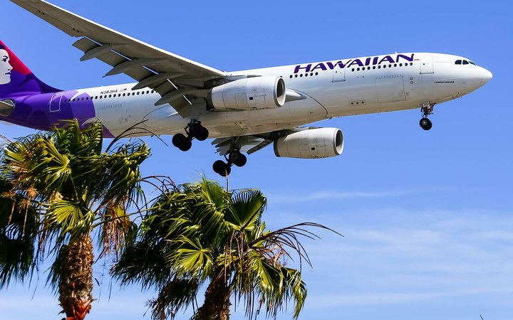 hawaiian airlines airplane flight travel gift card