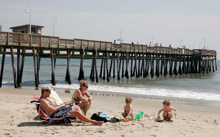 Sandbridge Vacation Family Beach Virginia
