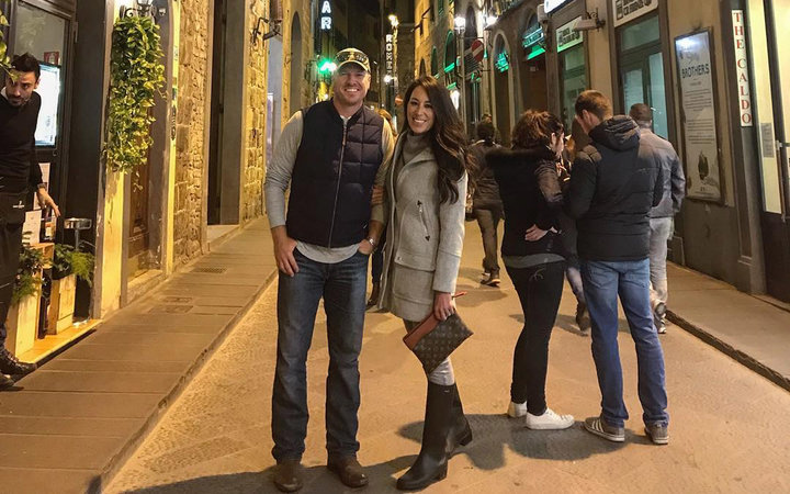 Chip and Joanna Gaines in Florence, Italy