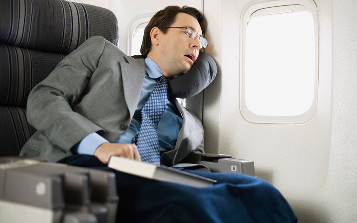 Sleeping on a Plane Wrong