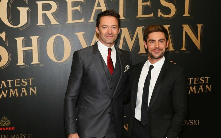 Passengers Got to Watch Zac Efron and Hugh Jackman Walk the Red Carpet Aboard This Cruise Ship
