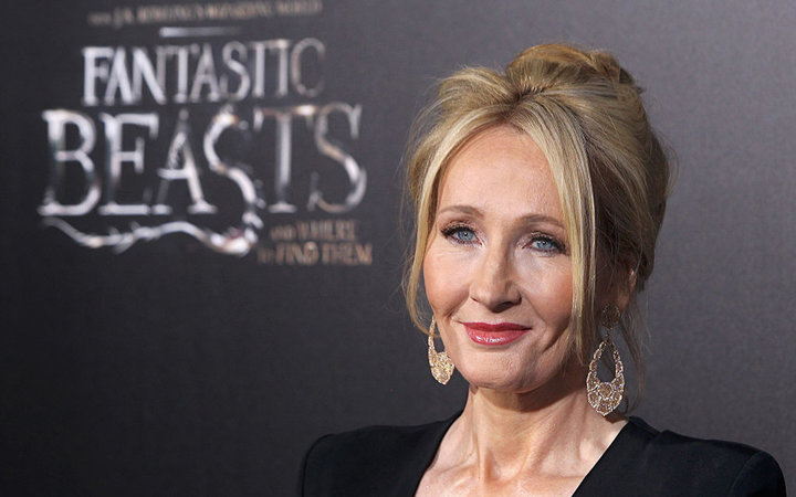 NEW YORK, NY - NOVEMBER 10:  Novelist J. K. Rowling attends the  Fantastic Beasts And Where To Find Them  world premiere at Alice Tully Hall, Lincoln Center on November 10, 2016 in New York City.