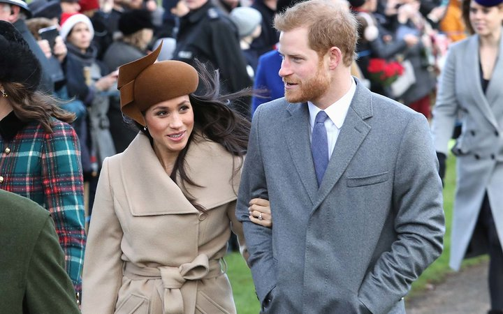 Meghan Markle Prince Harry Royal UK Christmas Holiday