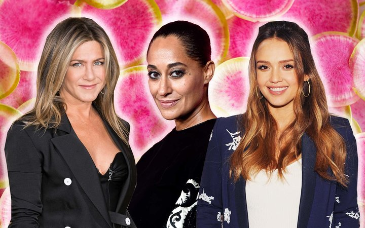 Jennifer Aniston Tracee Ellis Ross Jessica Alba Celebrity Healthy Snacks Eat