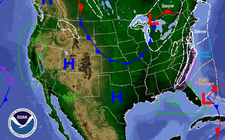 East Coast Winter Storm Forecast Snow Warning