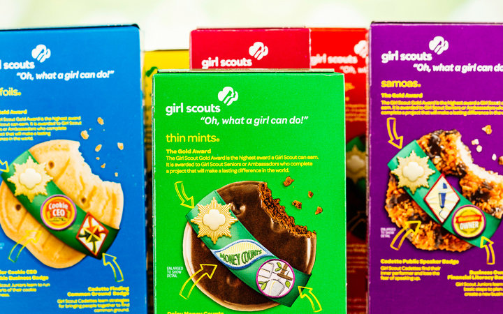 American Girl Scout Cookies