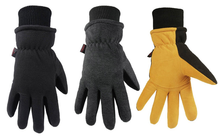 OZERO Winter Gloves -30°F Thermal Snow Work Ski Glove