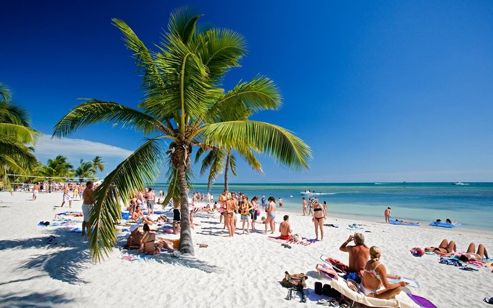 Key West Florida Beach