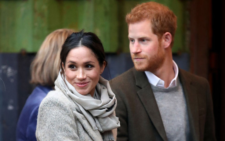 Prince Harry and Meghan Markle Visit Reprezent