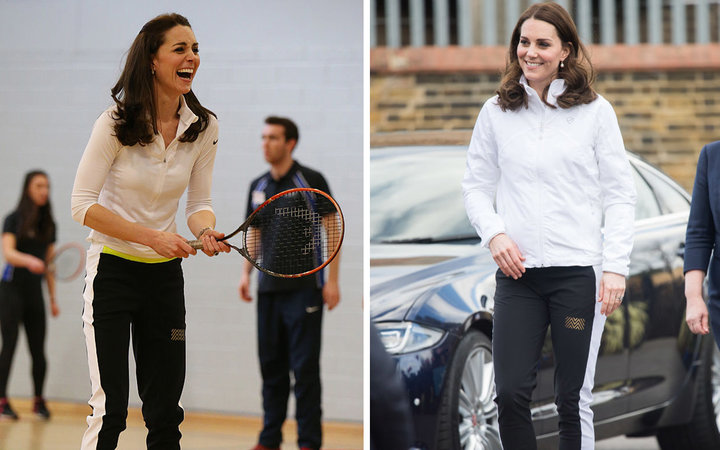 Kate Middleton recycling athleisure pants