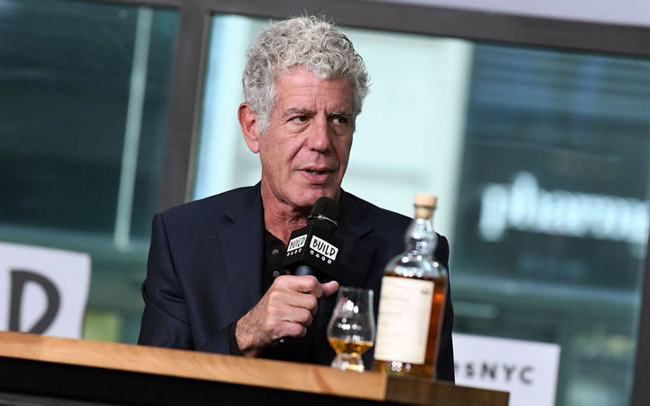 Build Presents Anthony Bourdain Discussing The Balvenie's  Raw Craft