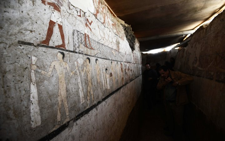 ancient egyptian tomb