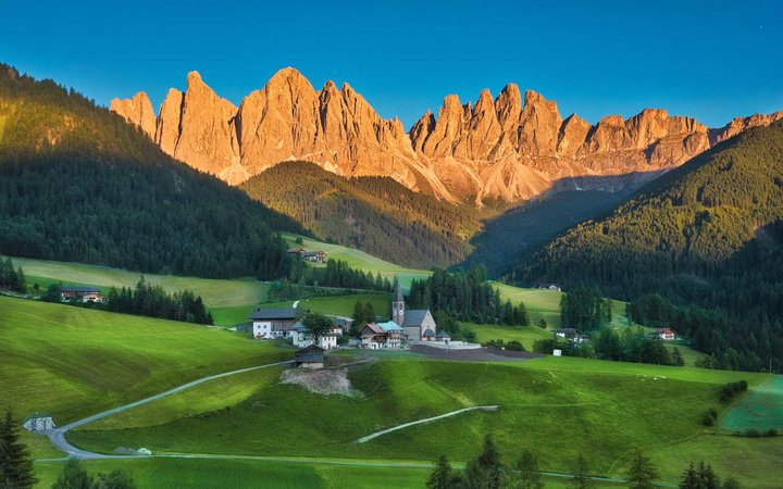 Dolomites & Sunset