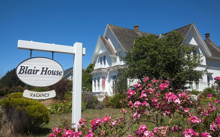 Blair House Inn Mendocino Village California