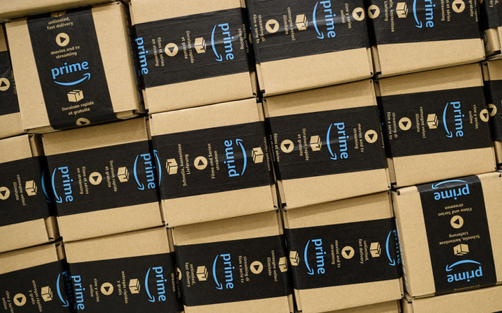 An Amazon Fulfilment Centre Prepares For Black Friday