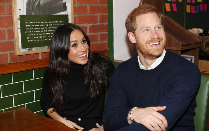 Meghan Markle and Prince Harry Royal Beer