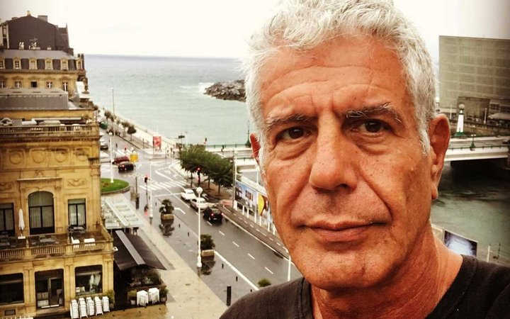 Anthony Bourdain in Playa De La Concha