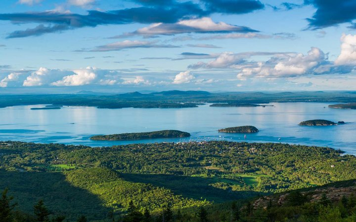 Acadia National Park, Mount Desert Island, Frenchman Bay