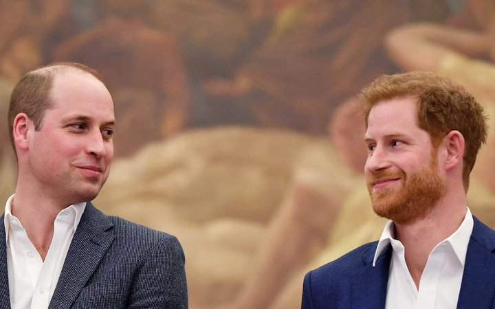 Prince Harry and William Duke of Cambridge