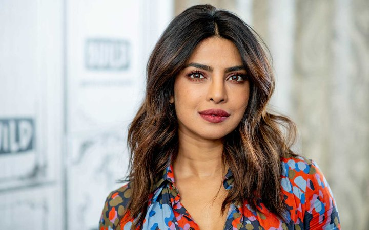 Priyanka Chopra discusses  Quantico  with the Build Series at Build Studio on April 26, 2018 in New York City