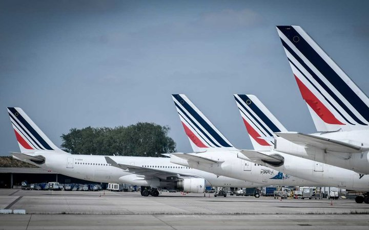 FRANCE-LABOUR-STRIKE-AIR FRANCE