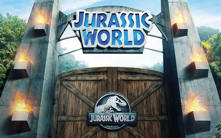 Crop of promo rendering for Universal Studios Jurassic World ride