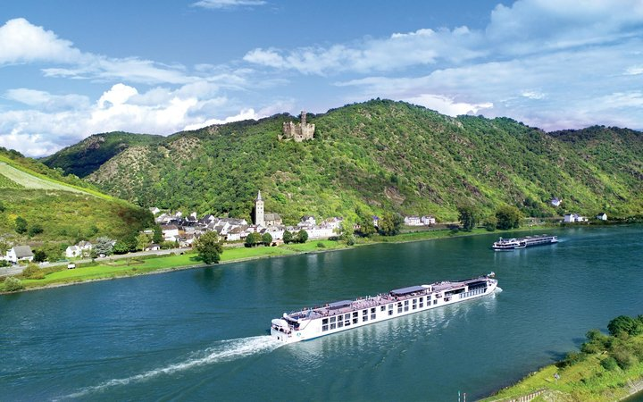 Crystal Bach sails the Rhine River