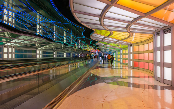 Chicago O'Hare Airport is in the midst of an $8.7 million expansion.