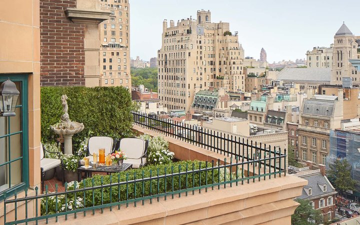 View from The Lowell hotel in New York City