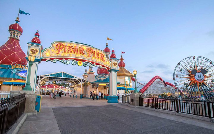 Pixar Pier opens at Disneyland California Adventure
