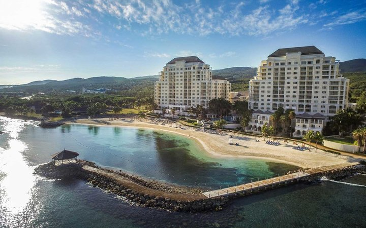 Overview of the Jewel Grande Montego Bay Resort & Spa, in Jamaica