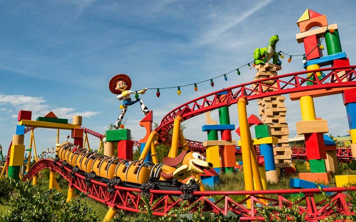 Toy Story Land Slinky Dog Dash, Disney World