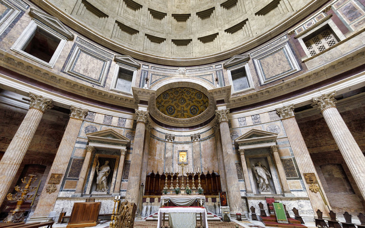 Inside Rome's Pantheon