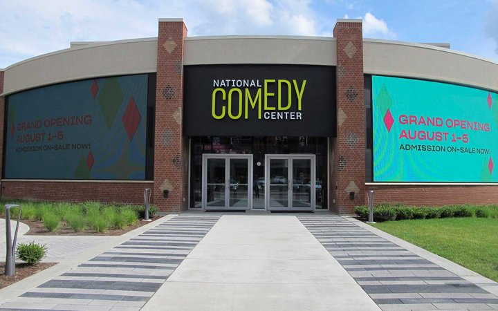 Grand opening of the National Comedy Center in Jamestown, NY