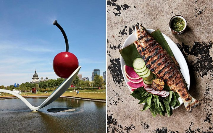Art and food in Minneapolis, MN