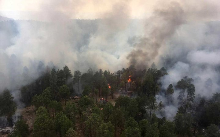 Grand Canyon Obi Fire as of 07-31-2018