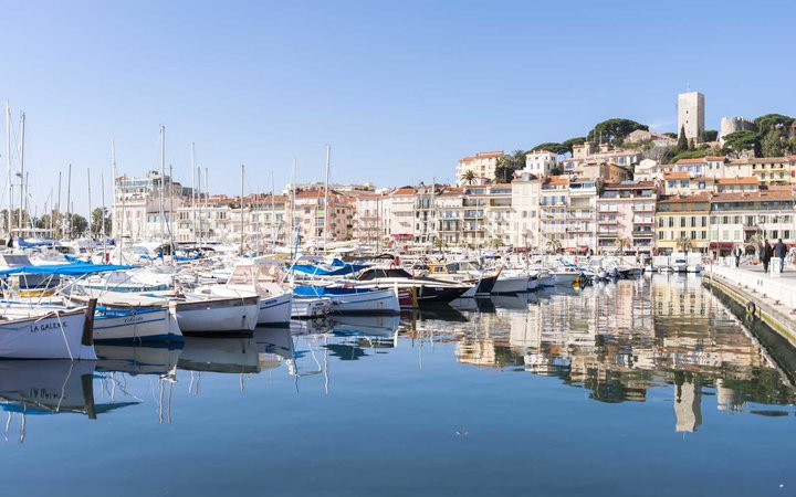 Harbor of Cannes, France
