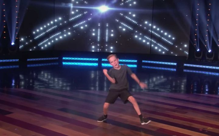 Boy Dancing on Cruise