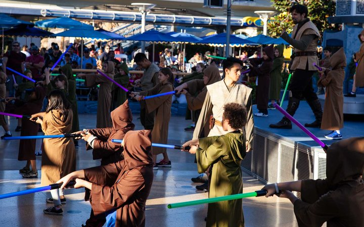 Star Wars Jedi Training at Disneyland